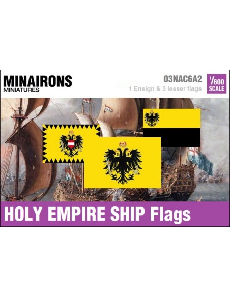 1/600 HRE Warship flags