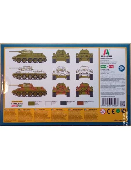 1/72 Tanc T-34/76 model 1942 - capsa de 2