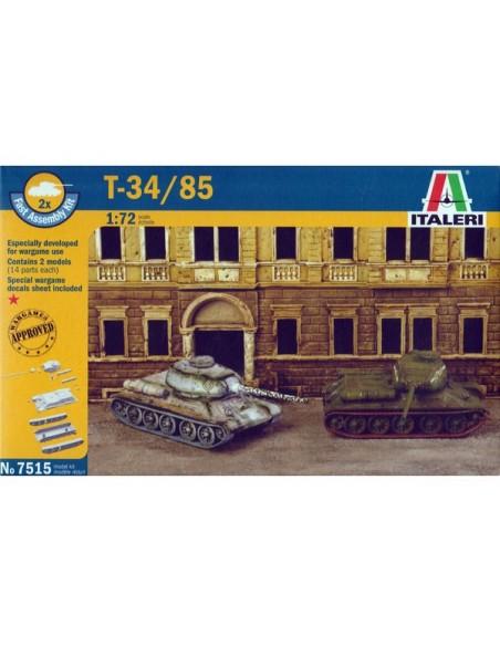 1/72 Carro T-34/85 - Caja de 2