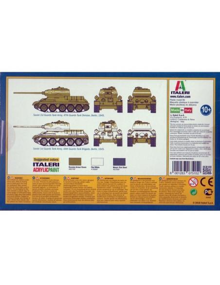 1/72 T-24/85 Tank - Boxed set