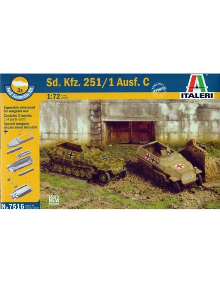 1/72 Sd.Kfz 251/1 ausf. C
