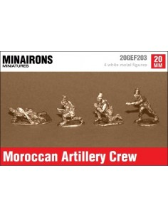 20mm Moroccan Artillery crew
