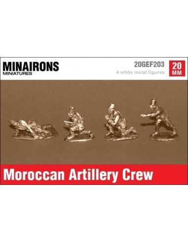 20mm Artilleros marroquíes