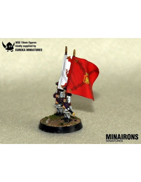 1/100 Castile IR flags