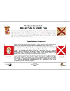 Banderas de infantería de Felipe V