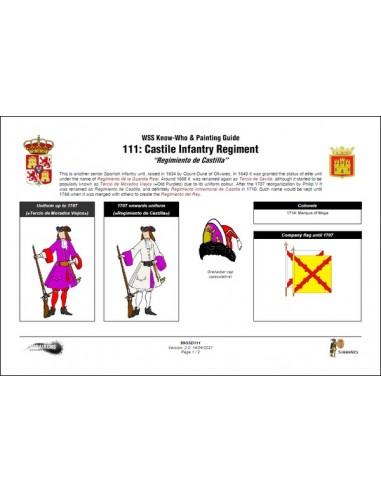Regt. d'Inf. de Castella