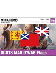 1/600 Scots Man-of-war flags