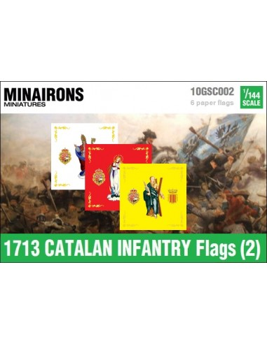 1/144 Catalan Infantry flags (2)