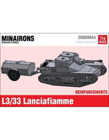 1/72 Lanzallamas L3/33 - Modelo suelto