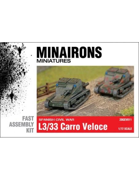 1/72 L3/33 Carro Veloce - Boxed set