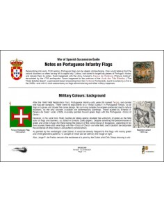 Portuguese infantry flags