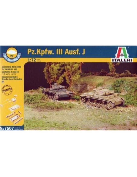 Panzer III ausf. J - Boxed set