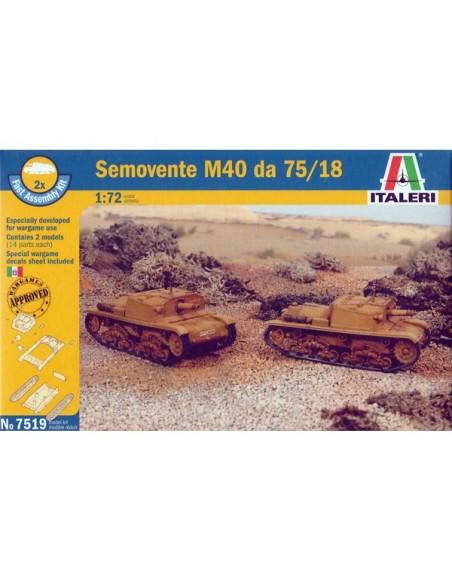 1/72 Semovente M40 da 75/18 - Boxed set