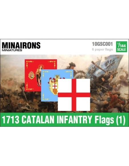 1/144 Catalan Infantry flags (1)
