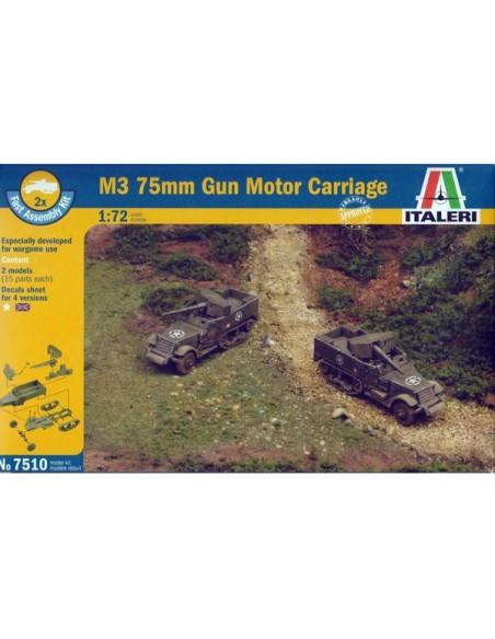 1/72 M3 Gun motor carriage - Boxed set