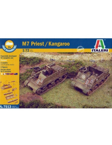 1/72 M7 Priest / Kangaroo - capsa de 2