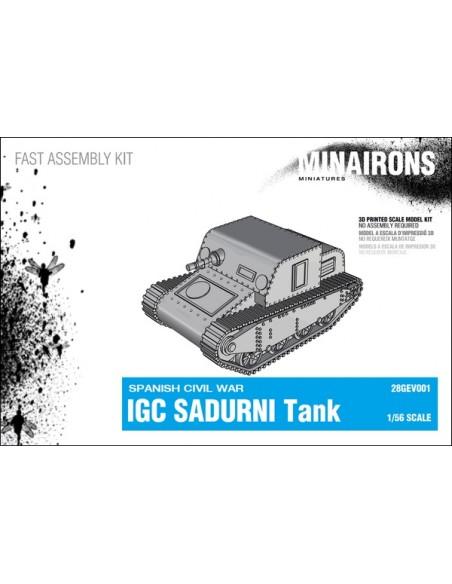 1/56 IGC Sadurní Tank - Boxed kit