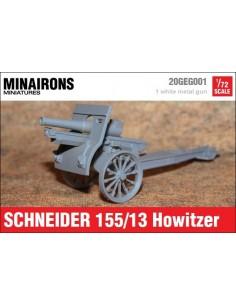 1/72 Obús Schneider 155mm