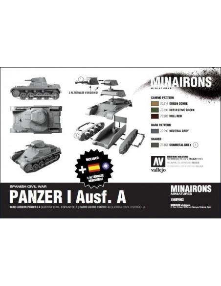 Panzer I Ausf. A - escala 1/100