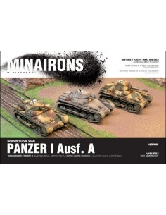 PANZER I Ausf. A - 1/100 scale