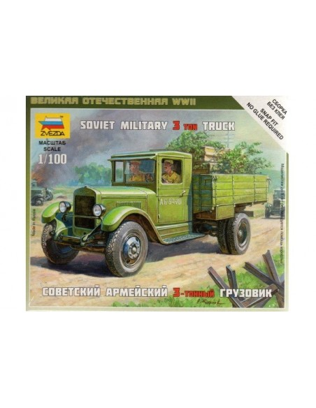 ZiS-5 Soviet truck - 1/100 scale