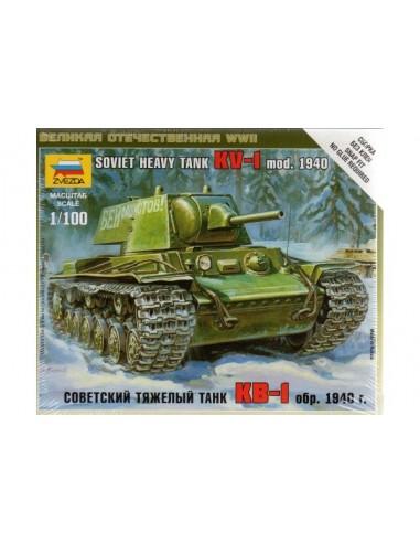 KV-1 mod. 1940 Heavy Tank - 1/100 scale