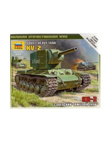 Tanc pesant KV-2 - escala 1/100