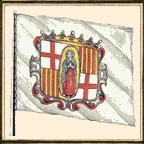 Pabellón de galeón catalán